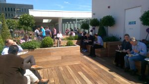 Lunch on the Roof Terrace
